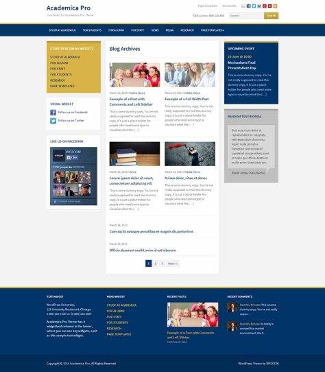 Academica Pro - Blog