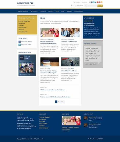 Academica Pro - News