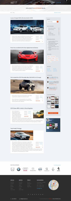 AutoTrader - Blog