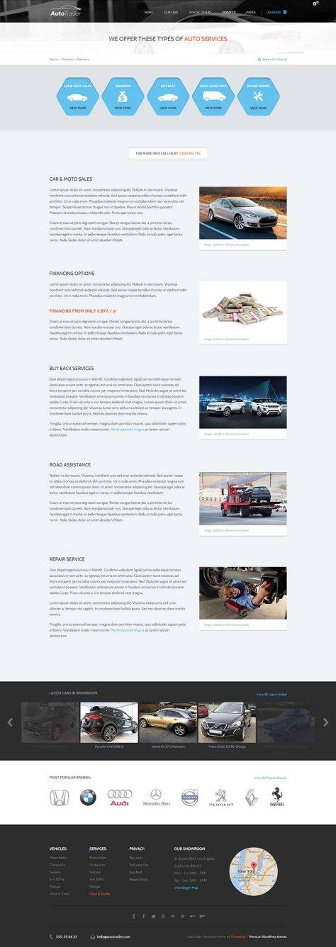 AutoTrader - Services
