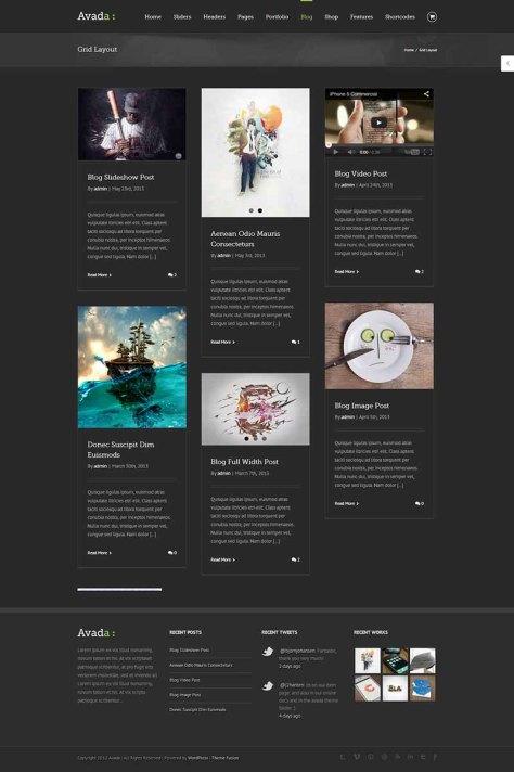 Avada - Blog