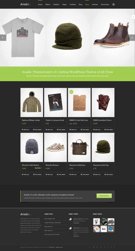 Avada - Shop 1