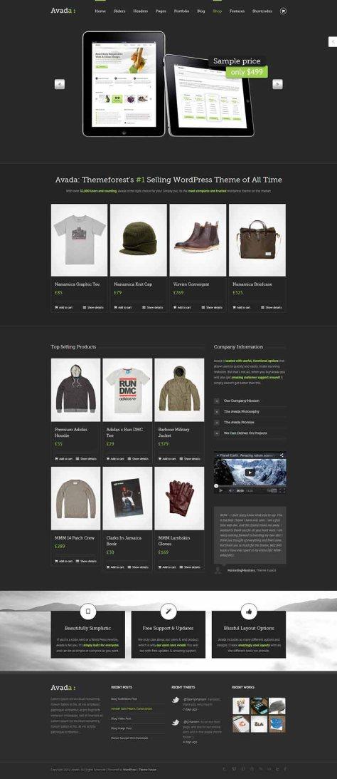 Avada - Shop 2