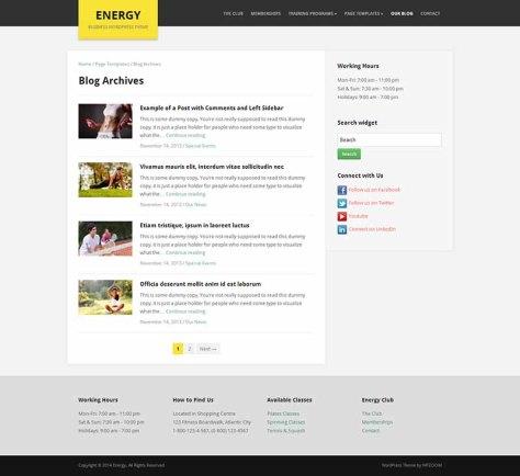 Energy - Blog