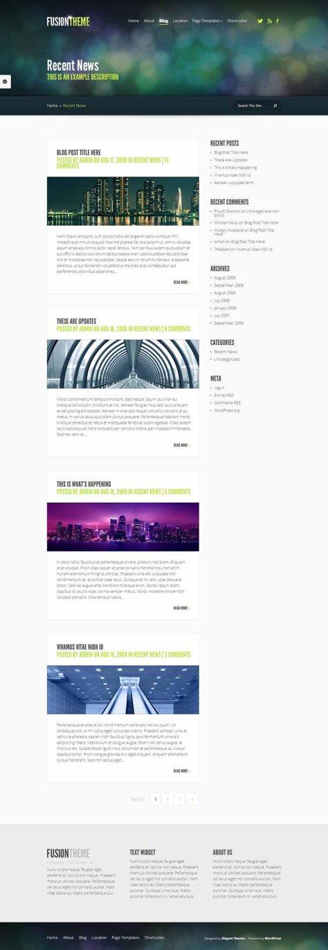 Fusion - Blog