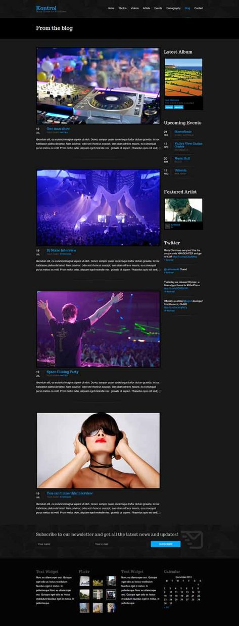 Kontrol - Blog