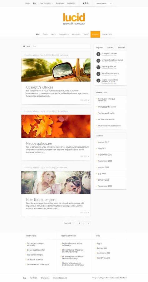 Lucid - Blog