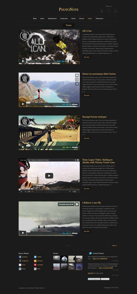 PhotoNote - Videos