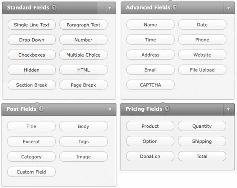 WordPress Plugins – Gravity Forms | Light Themes